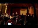 Выступление 2 отряда с песней Батарейка