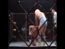 Harley Race © vs. Ric Flair - Steel Cage Match for the NWA World Championship [Starrcade 1983]