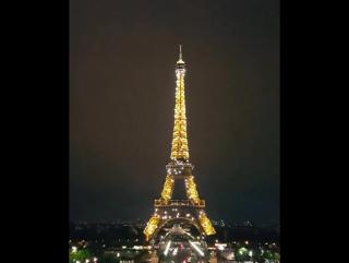 ㅠㅠ넘이쁘다 1일 1에펠탑보러가기 실천중  유럽여행#자유여행#유디니#여행에미치다프랑스#파리... Париж 08.09.2017