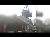 Китаец обнаружил свою машину на крыше