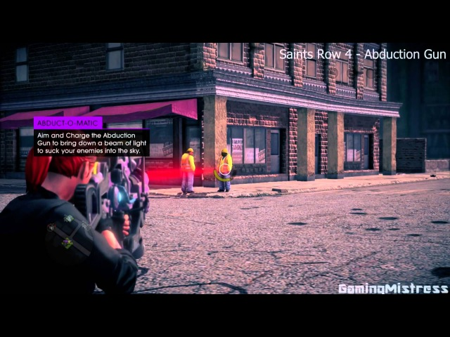 Saints Row 4 - Abduction Gun (Alien Technology)