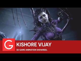 Kishore Vijay - 3D Game Animation Showreel