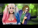 Taylor Swift as Harley Quinn - Look What You Made Me Do Parody