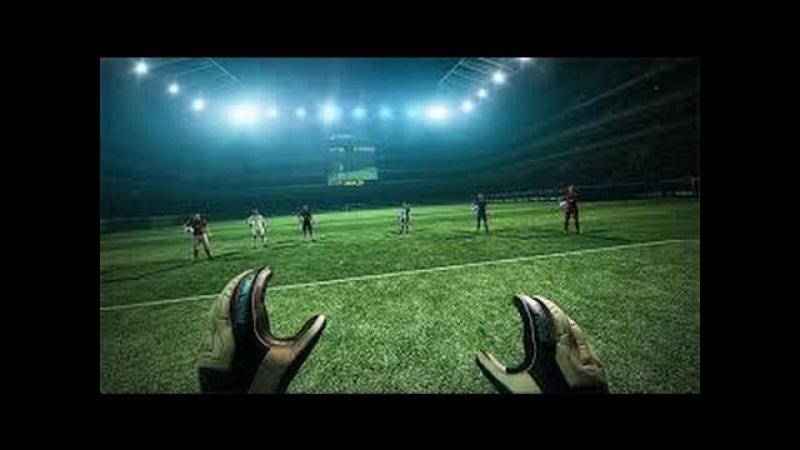 Футбол в виртуальной реальности \ VR