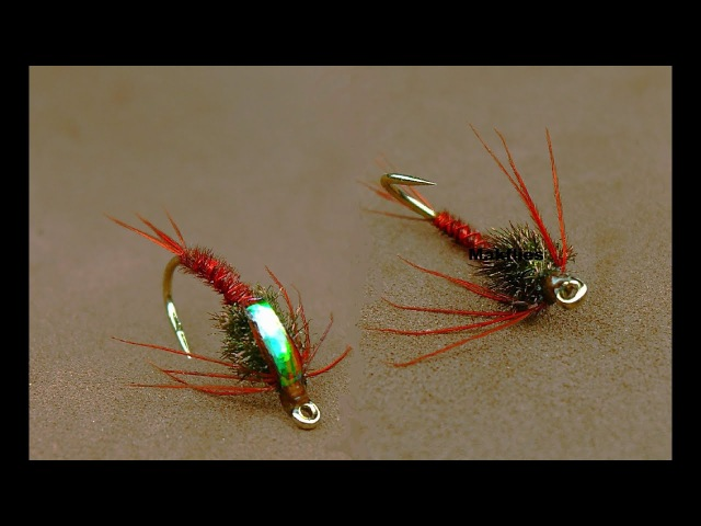 Fly Tying a Claret Pheasant Tail Nymph by Mak