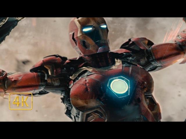 Зоковия падает с небес. Халк отправляется в странствие. Мстители: Эра Альтрона 4K ...