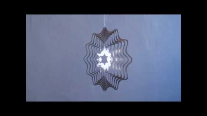 ВЕТРИГО Кинетическая скульптура Vetrigo Цветок i- » Freewka.com - Смотреть онлайн в хорощем качестве