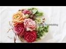 앙금플라워 장미/작약/잎사귀 :: How to make bean paste flower piping and arrangement rose,peony ,Leaves