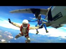 Roberta Mancino in Russia GoPro Awesome Skydive 4W Menzelinsk