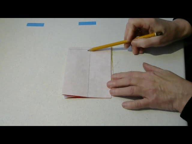 Моделирование 5. Как раскроить юбку из 4х клиньев сразу на ткани.