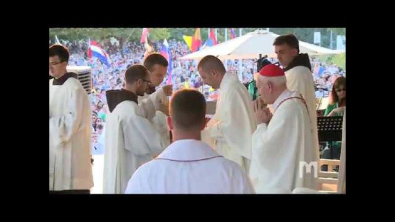 Проповідь кардинала Ернеста Сімоні на фестивалі молоді 2017 в Меджугор'є