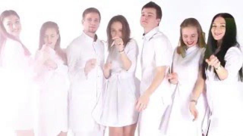 Люди в белом Самая крутая реклама медицинской одежды Студенты медики в роли ...