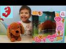 New! Интерактивный домашний питомец собака Люси. Lucy Dog IMC Toys. Эмилюша играет с собак
