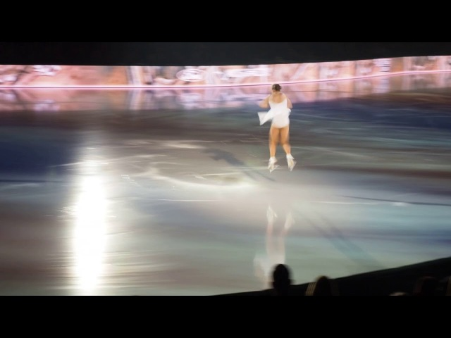 Anastasiia Gubanova and Laura Bretan at Art On Ice Zurich 2018