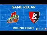 Highlights: Lokomotiv Kuban Kransodar - Lietuvos Rytas Vilnius