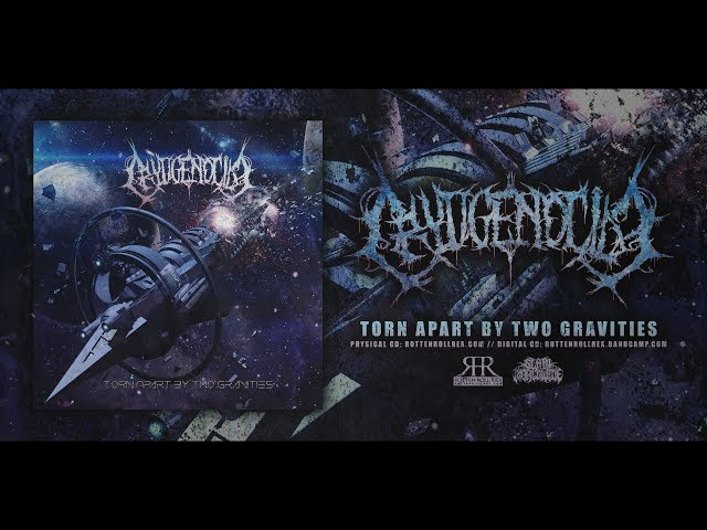 CRYOGENOCIDE - TORN APART BY TWO GRAVITIES [OFFICIAL EP STREAM] (2017) SW EXCLUSIVE