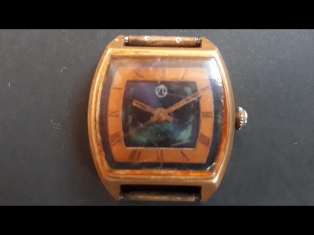 Часы позолота (Au 10 -).
