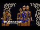 Н.Новгород Училище Олимпийского Резерва (МС) Ленты Rhythmic Gymnastics Tournament Metelitsa 2018
