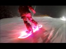 The LED Snowboard