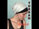 Как сделать высокий тюрбан на короткие волосы БЕЗ ВОЛЮМАЙЗЕРА. Каркас-2 для коротких/тонких волос❗️