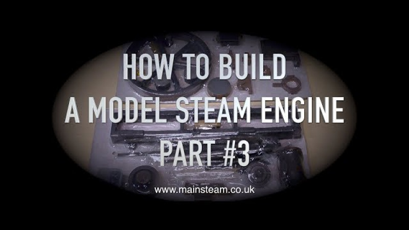 HOW TO BUILD A MODEL STEAM ENGINE - STUART MODELS VICTORIA - PART 3 - CLEANING UP THE FLYWHEEL