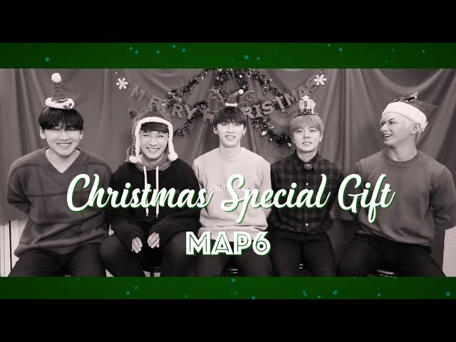 맵식스 MAP6 2017 메리 크리스마스 선물 영상 Merry Christmas Special Present