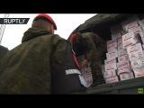 New Year lifeline Russian humanitarian aid cargo lands at Khmeimim Airbase bearing gifts