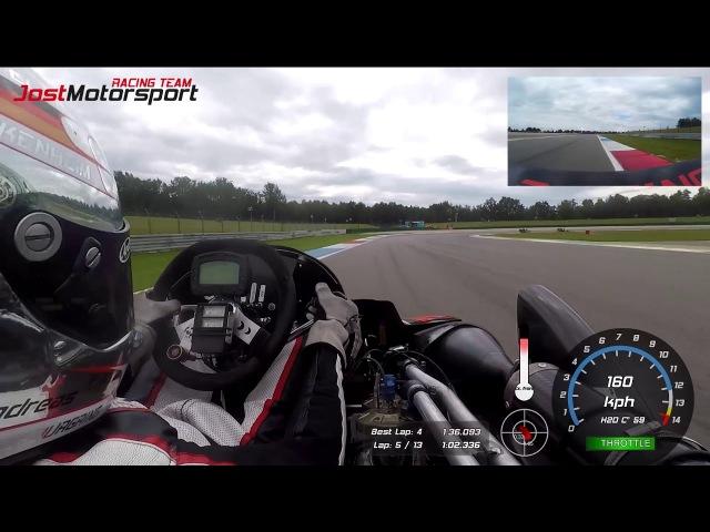 Assen 2017 Race 1 - CIK-FIA European Superkart Championship - Andreas Jost - 04.08.2017