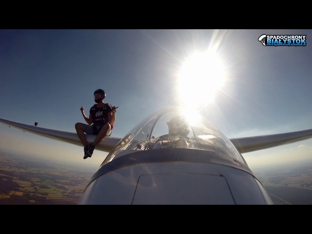 Skydive from a Glider
