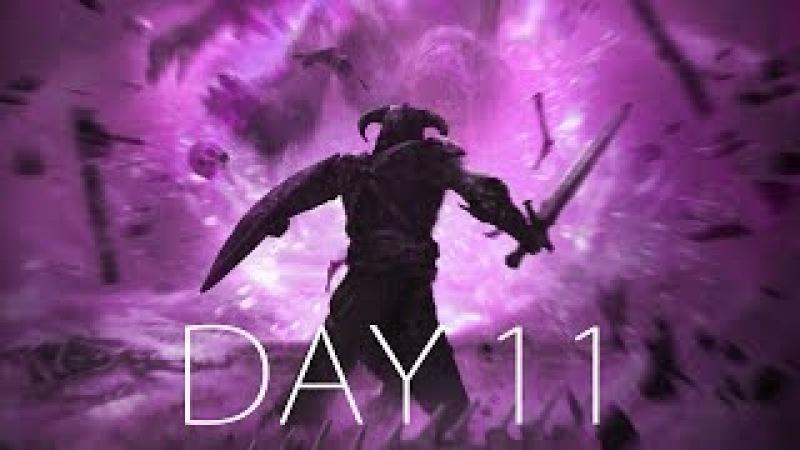 ХИТРЫЙ НОРД И ГОЛОЛЁД ● SKYRIM HARD - Day 11