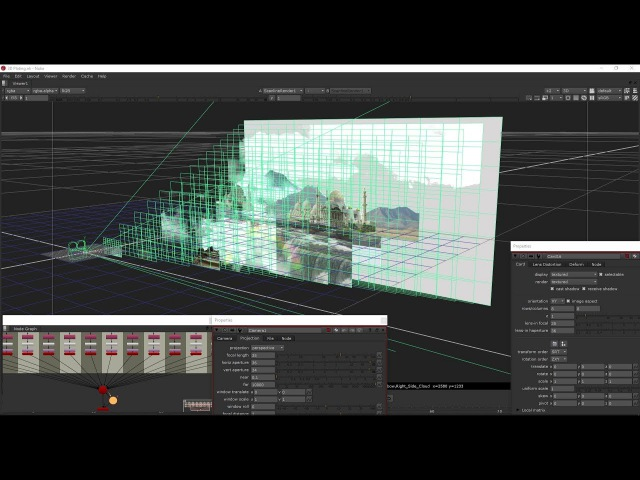 3D Matte Painting in Nuke-3D Projection-Camera Setting In Nuke~Matte Painting Psd File Is Available.