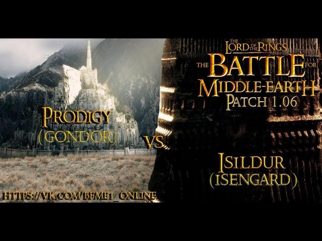 Обзор повтора Isildur vs Prodigy Изенгард vs Гондор