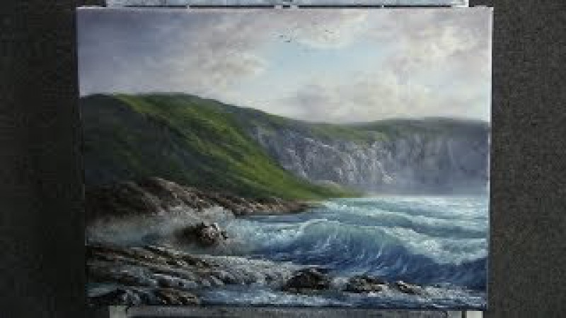 Paint with Kevin Hill - The Rugged Coast