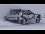 Lancia Delta S4 Martini Racing on Snow!! - The Ice Challenge Livigno 2018