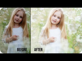 How to Create Soft & Dreamy Photos in Photoshop | Best Simple Photography Photo Editing