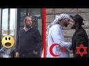 Мусульманин и иудей идут вместе Социальный эксперимент Русская озвучка LIVE EMOTIONS