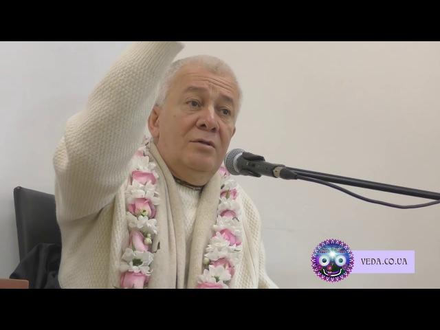 Чайтанья Чандра Чаран дас - 2. Единство общины БГ 12.13-14