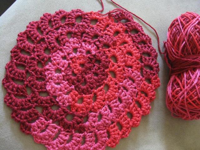 Flower Spiral Motif Pattern Crochet Tutorial