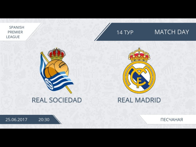 AFL17. Spain Primera. Day 14. Real Sociedad - Real Madrid
