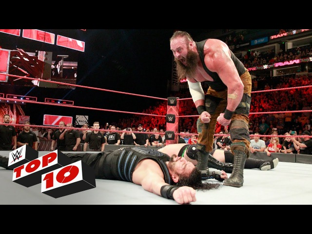 Top 10 Raw moments: WWE Top 10, July 17, 2017