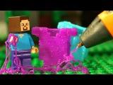 3Д Ручка ФНАФ и Лего Нубик Майнкрафт Мультики LEGO Minecraft - Видео Мультфильмы для Детей
