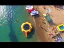 #4K_SEASUN Орджоникидзе Крым аэросъемка DJI Черное Море вид сверху пляжи 2017 лето #MW_I