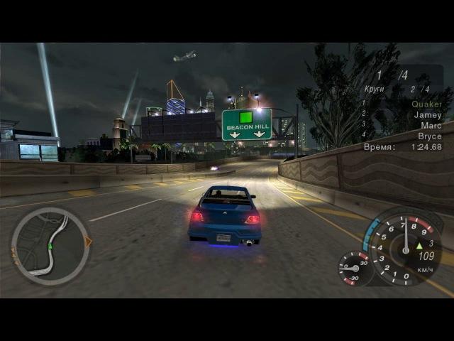 Need for Speed: Underground 2 Геймплей в 60 FPS