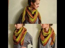 Бактус шарф косынка платок спицами это просто Bacchus scarf kerchief knitting