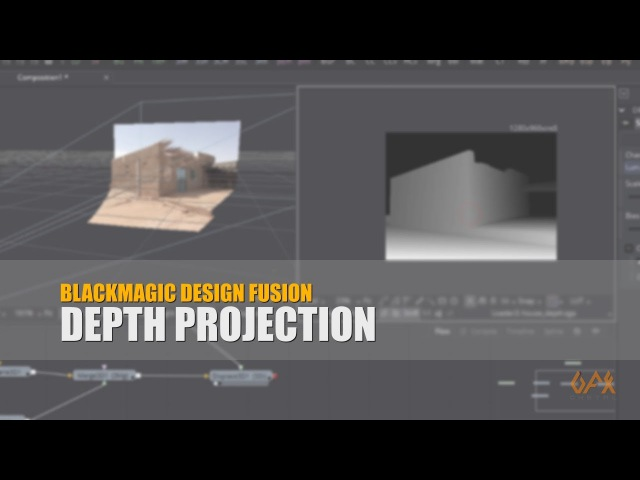 BMD Fusion Tutorial Depth Projection