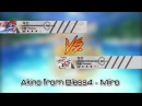 Osu Akino from Bless4 Miiro One song Two beatmaps
