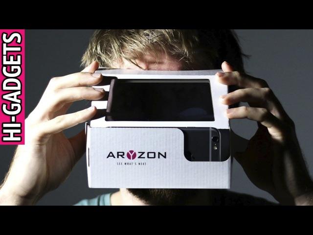 Дополненная реальность за недорого! AR шлем Aryzon по цене Google Cardboard VR.   HI-GADGETS.