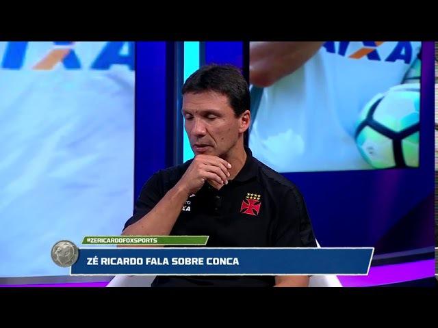 Conca volta Zé Ricardo conta experiência com o jogador e lam