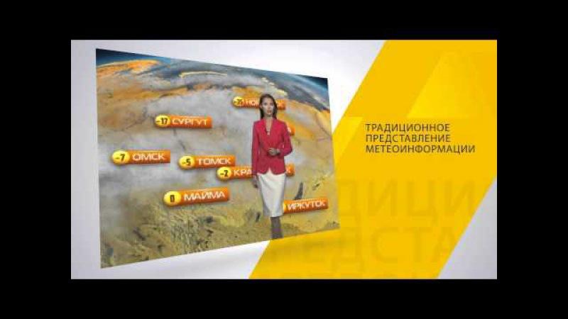 Выпуски Метео-ТВ на телеканале РЕН-ТВ
