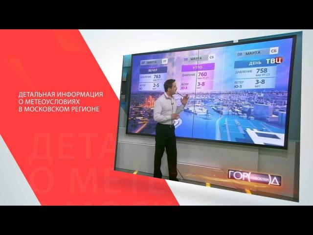 Выпуски Метео-ТВ на телеканале ТВЦ